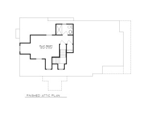 MADISON ATTIC PLAN